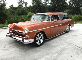 Barrett-Jackson countdown: Custom 1955 Chevrolet Bel Air Nomad