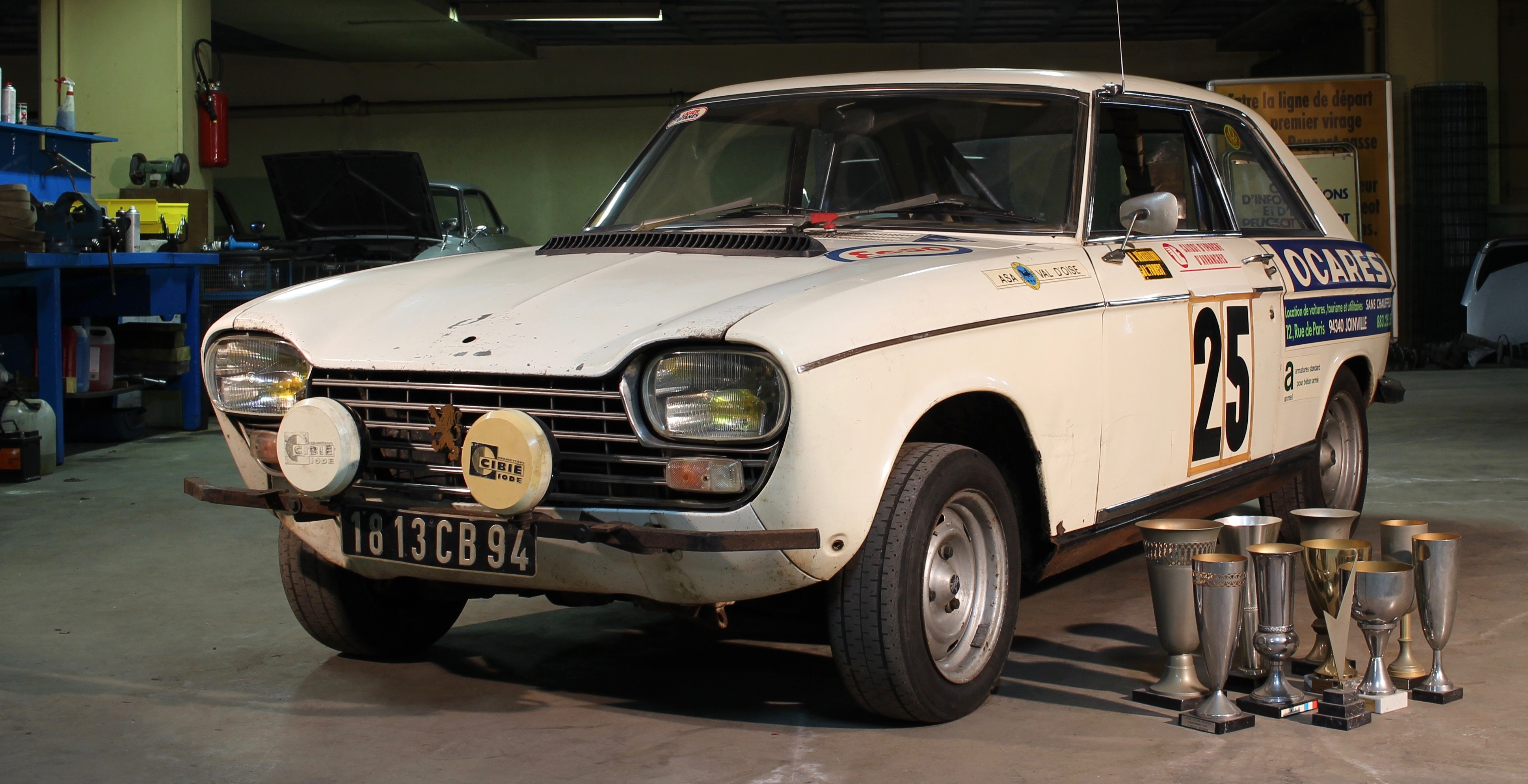 Race Prepped Peugeot 504 Among Record Setting Sales At French Auction