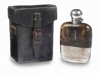 Rem Fowler's flask goes to auction