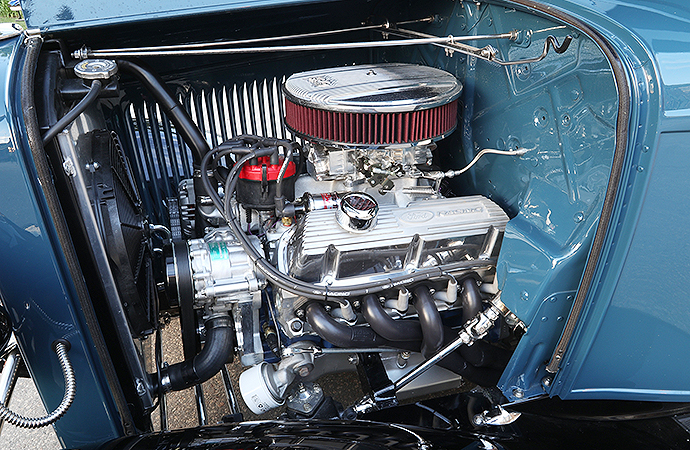 That's a Ford Performance engine under the hood. | United Pacific Industries photo