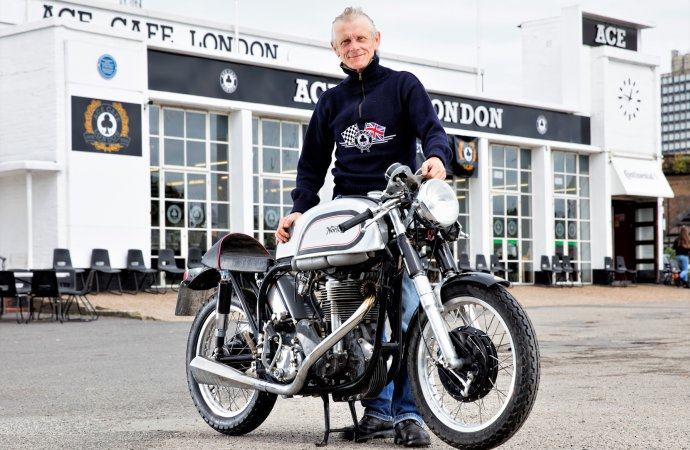 Ace Café founder's motorcycles offered at Bonhams' bike auction