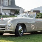 Alfa Romeo cobble beach