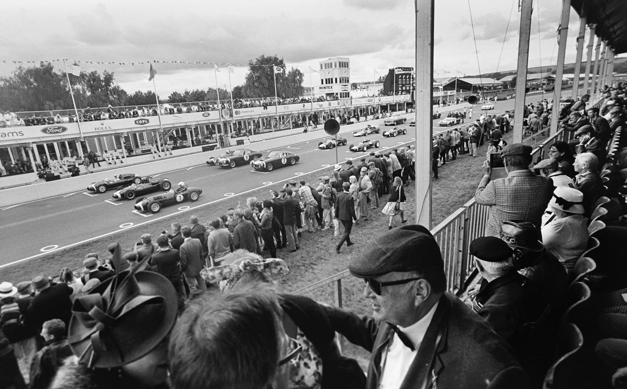 Goodwood, Goodwood Revival, as viewed through a vintage viewfinder, ClassicCars.com Journal