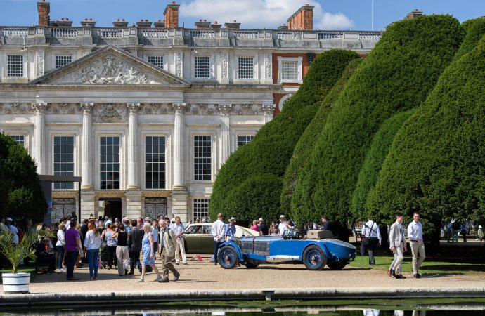 Recently restored 1929 Mercedes 'Boat Tail' wins at Royal concours