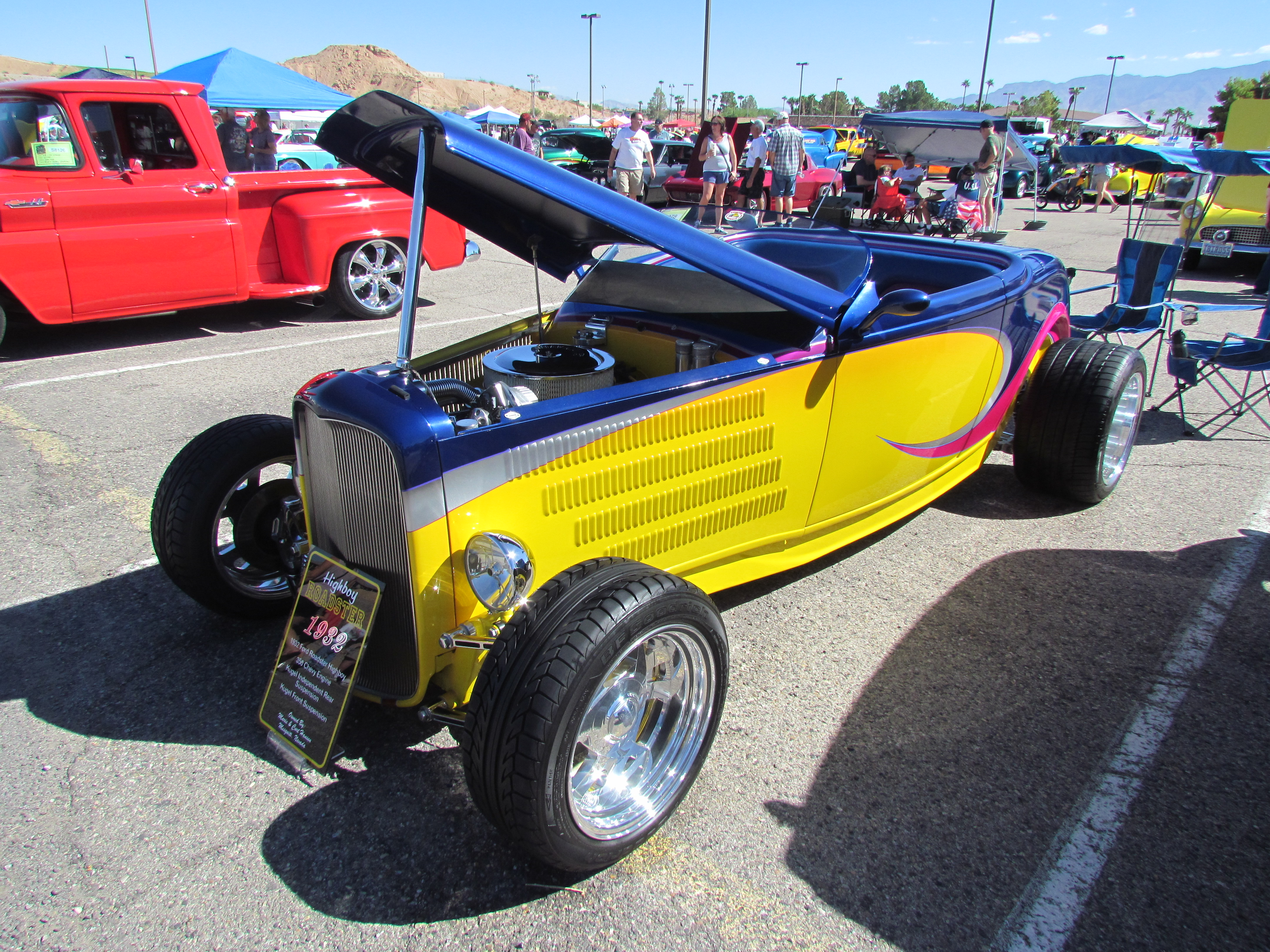 Shorty Chevy is a showstopper at Super Run Classic Car Show