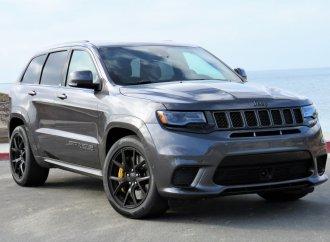 New Grand Cherokee Trackhawk runs with Hellcat power