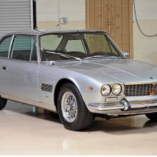 Rare designer Maserati Mexico coupe with movie-star provenance