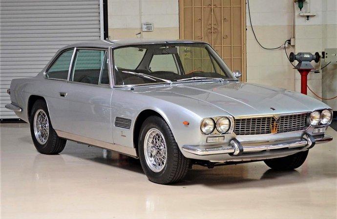 Rare designer Maserati Mexico coupe with movie-star provenance