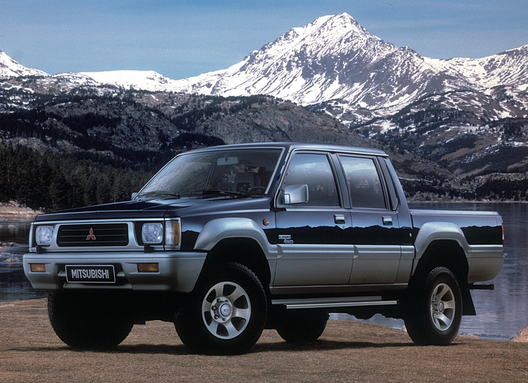Mitsubishi, Mitsubishi pickup celebrates 40th birthday, ClassicCars.com Journal