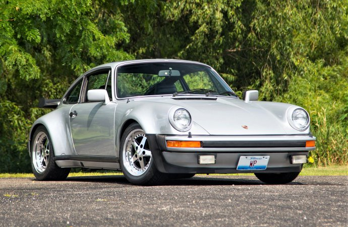 NFL great Walter Payton's Porsche 930 Turbo at Mecum Chicago sale