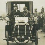 Richard Shuttleworth was a regular on early Veteran Car Runs aboard his Panhard 1