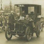 Richard Shuttleworth was a regular on early Veteran Car Runs aboard his Panhard 3