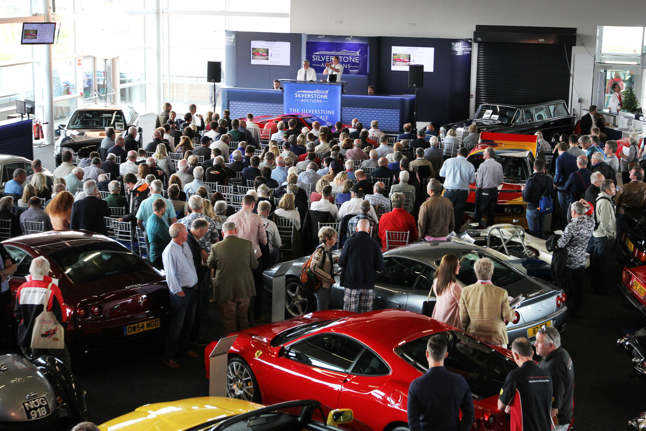 Silverstone, Silverstone to stage auction at Autosport International 2019, ClassicCars.com Journal