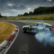 The 'Ring has a drift king: Mustang masters famed track