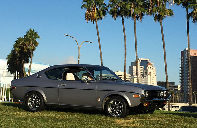 Another of my friends, Armando, brought his 1974 Mazda RX-4. | Tyson Hugie photo