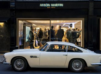 Aston Martin opens ritzy London showroom for classic cars