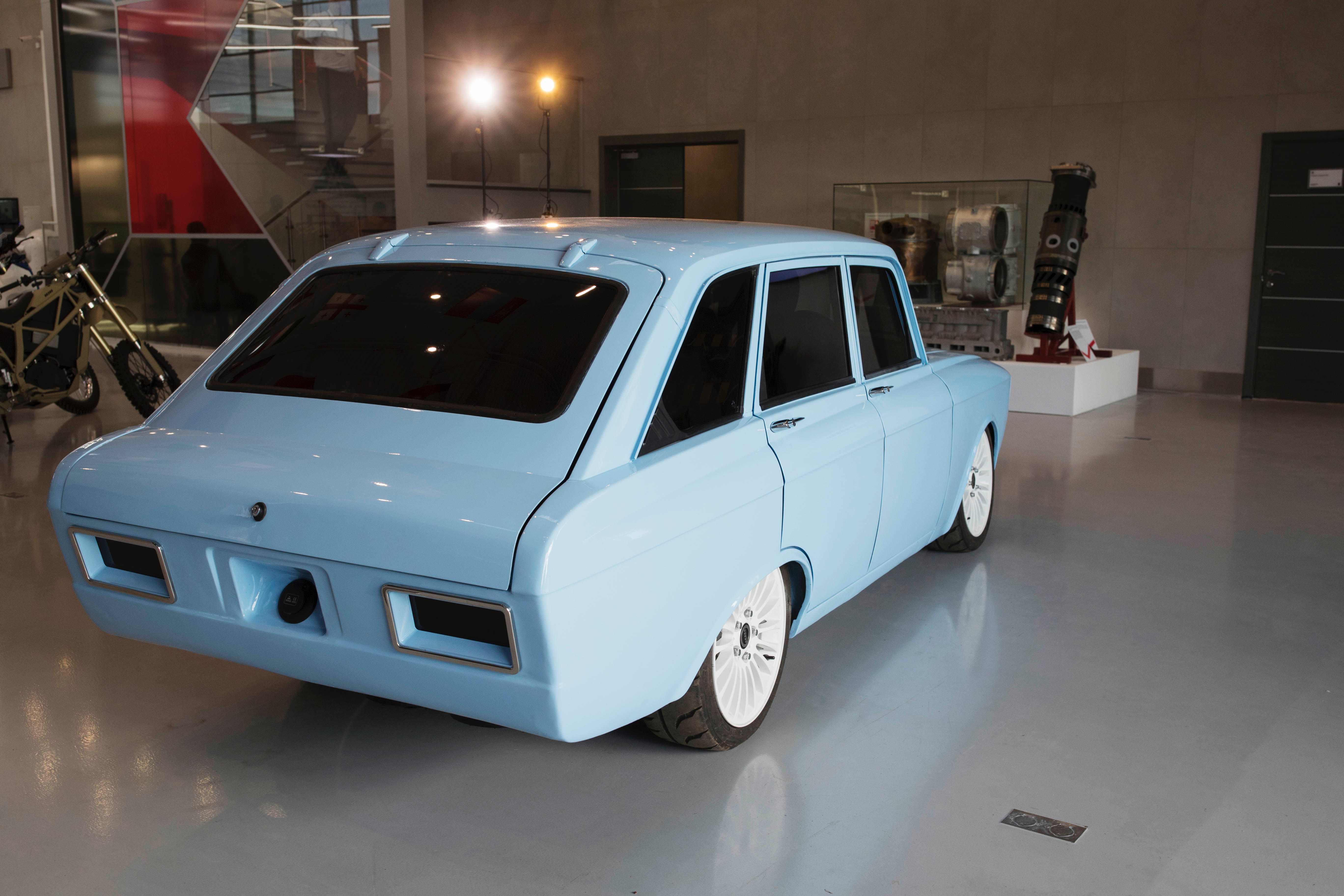 electric car, From Russia with love, or something, an electric car, ClassicCars.com Journal