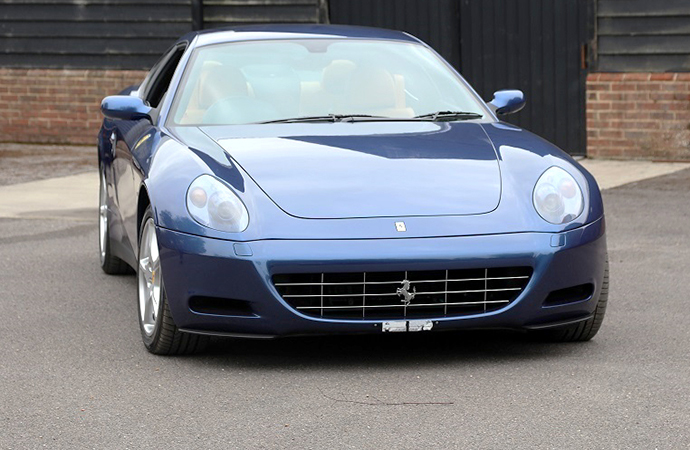 Clapton found the Ferrari was more welcome on country lanes than city roads. | H&H Classics photo
