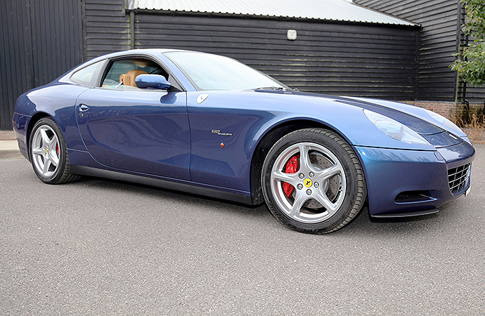 Blue Ferrari Blue: Eric Clapton's Italian sports car up for auction