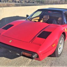 As seen on TV, Ferrari 308 GTS like the one driven on 'Magnum PI'
