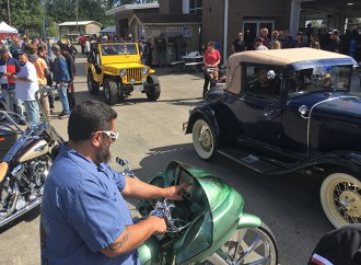 Nothing is as it seems at Fully Blown car show