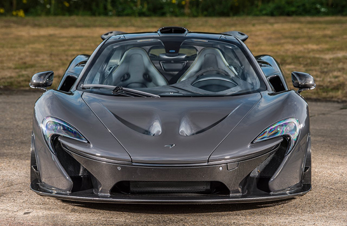 Formula One champ Jensen Button's 2015 McLaren P1 for sale