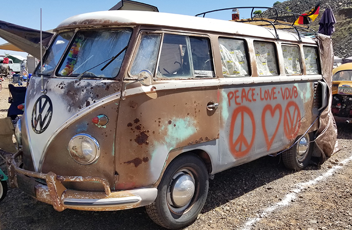 Jerome Jamboree a 'less-weird' Burning Man for Volkswagen bus fans
