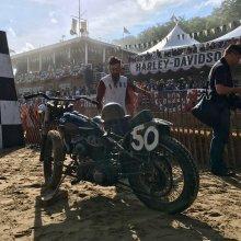 Bradford Beach Brawl celebrates old-style motorcycle racing