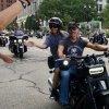 Just when we need it, Harley-Davidson throws a motorcycle parade