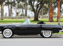 This 1956 Ford Thunderbird convertible was owned by Hollywood icon Marilyn Monroe. It's going up for auction in November.   Julien's Auctions photo