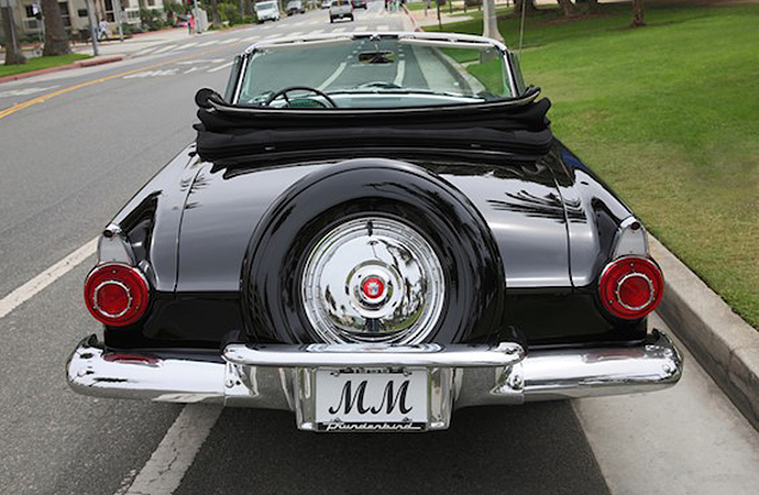 Marilyn Monroe Ford Thunderbird To Be Auctioned For First Time