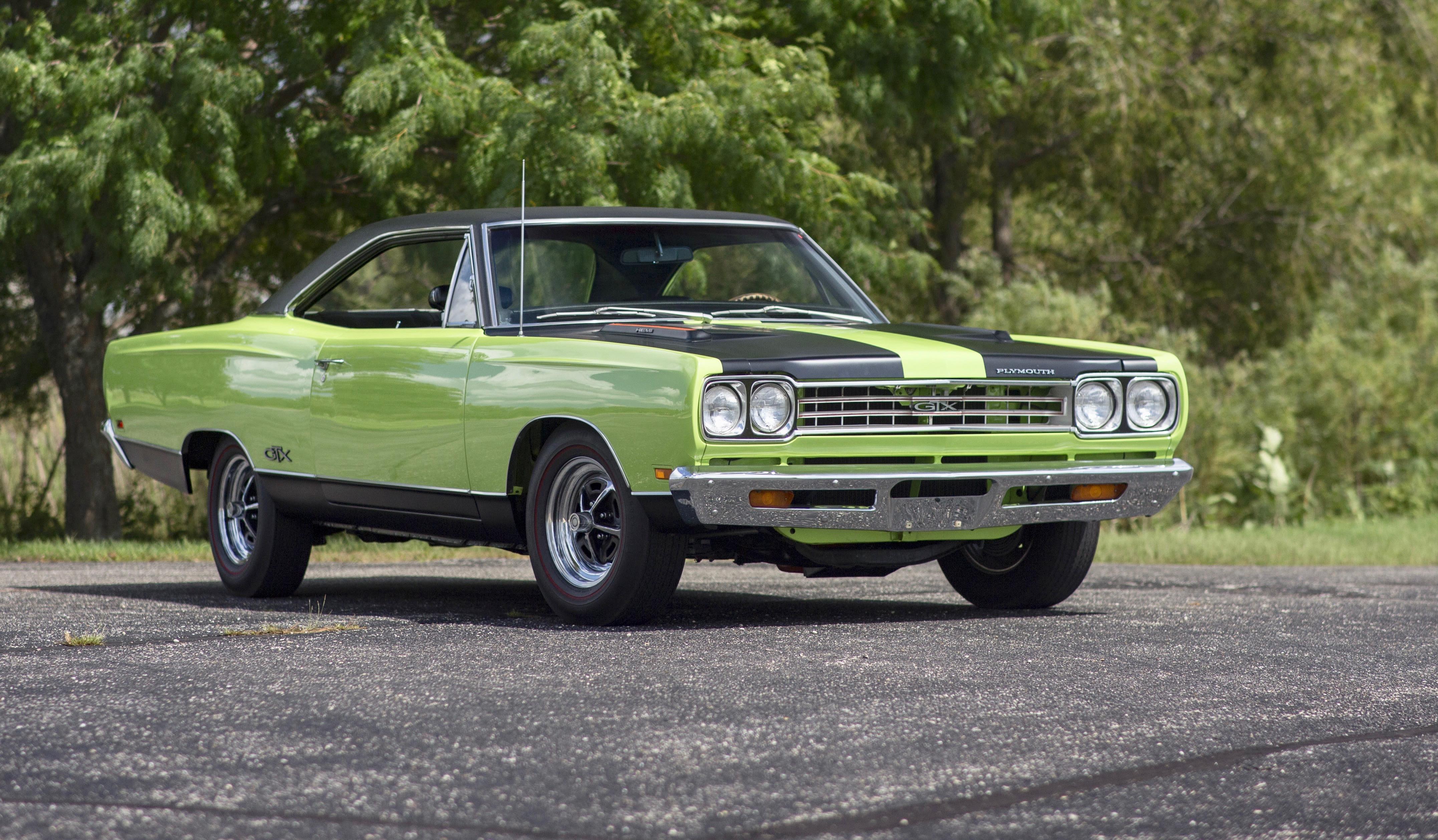 Modern Muscle Cars Top Mecum's Louisville Auction
