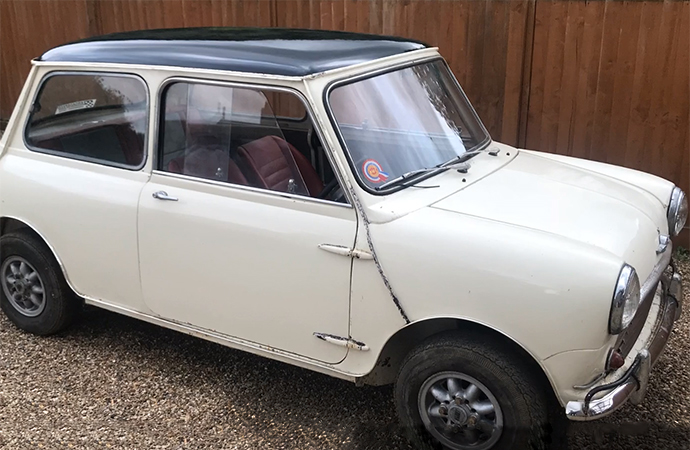 Mini Cooper S Mark I found in England barn could be oldest in existence