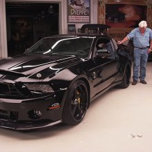 Actor Jim Caviezel brings SEAL tribute Shelby GT500 to 'Jay Leno's Garage'