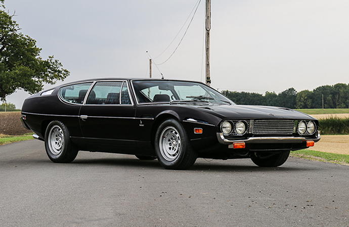 A trio of Lamborghinis, including this 1974 Lamborghini Espada Series 3, will lead Silverstone Auctions' upcoming sale. | Silverstone Auctions' photo