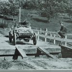 washed out bridge near Grinnell Iowa