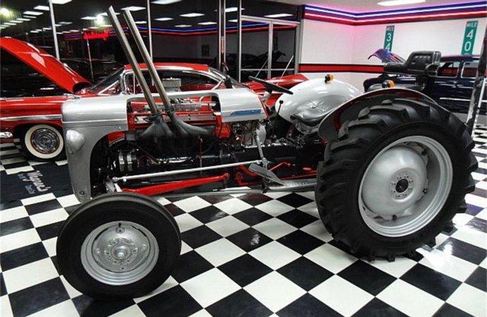 Jaguar-powered farm tractor