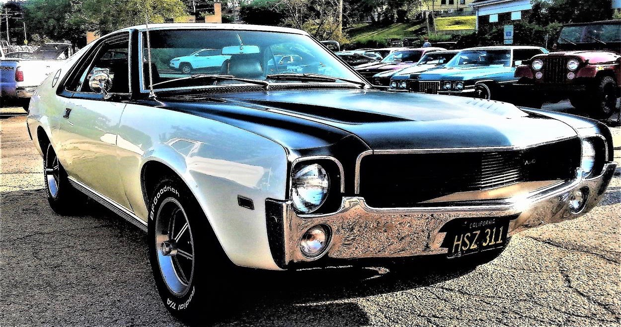 1969 AMC AMX, This AMX is black and white and red-y to run, ClassicCars.com Journal