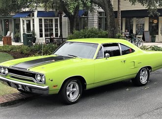Clean, green muscle machine: 1970 Plymouth Roadrunner coupe