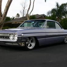 'Purple Passion' 1961 Oldsmobile Dynamic 88 custom