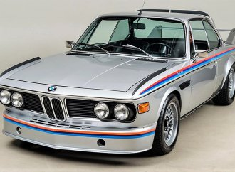 BMW 3.0 CSL 'Batmobile' with low mileage and all the trimmings