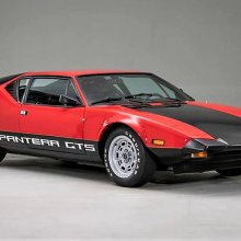 Low-mileage, Ford V8-powered 1974 DeTomaso Pantera GTS
