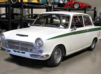 1967 Lotus-Cortina, British racing champ fully restored