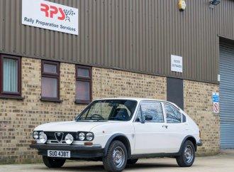 Rally-style 1978 Alfasud