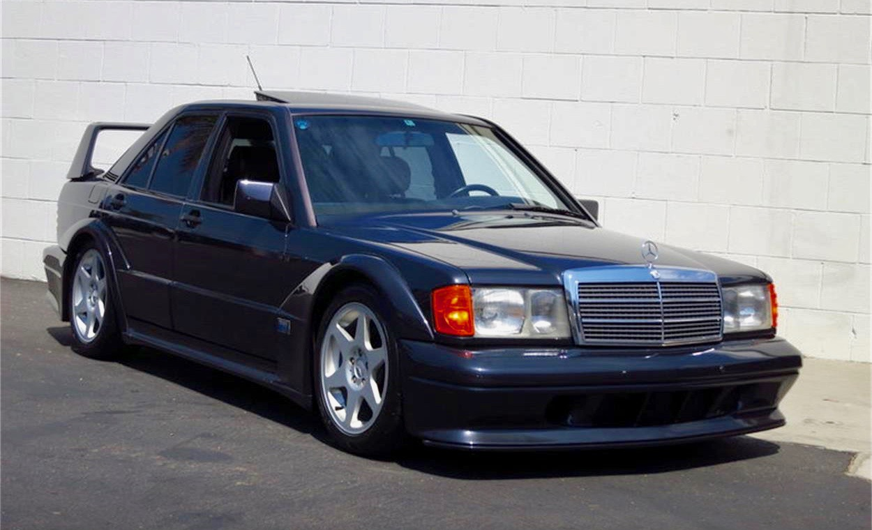 1990 Mercedes-Benz homologation special is 1 of only 500