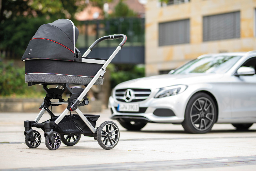Infants Can Ride In Style In New Mercedes Designed Baby Buggy