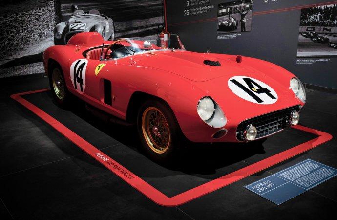 Driven by the greats: '56 Ferrari headlines RM Sotheby's LA auction