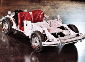 Unique Porsche 'training chassis' set for RM Sotheby's auction