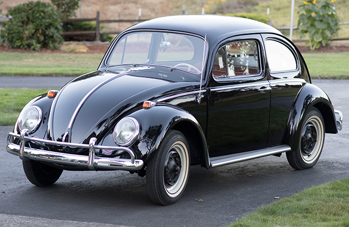This practically brand-new 1964 Volkswagen Beetle carries a $1 million price tag, which would make it the most expensive Beetle of all time. | Burback Motors photo