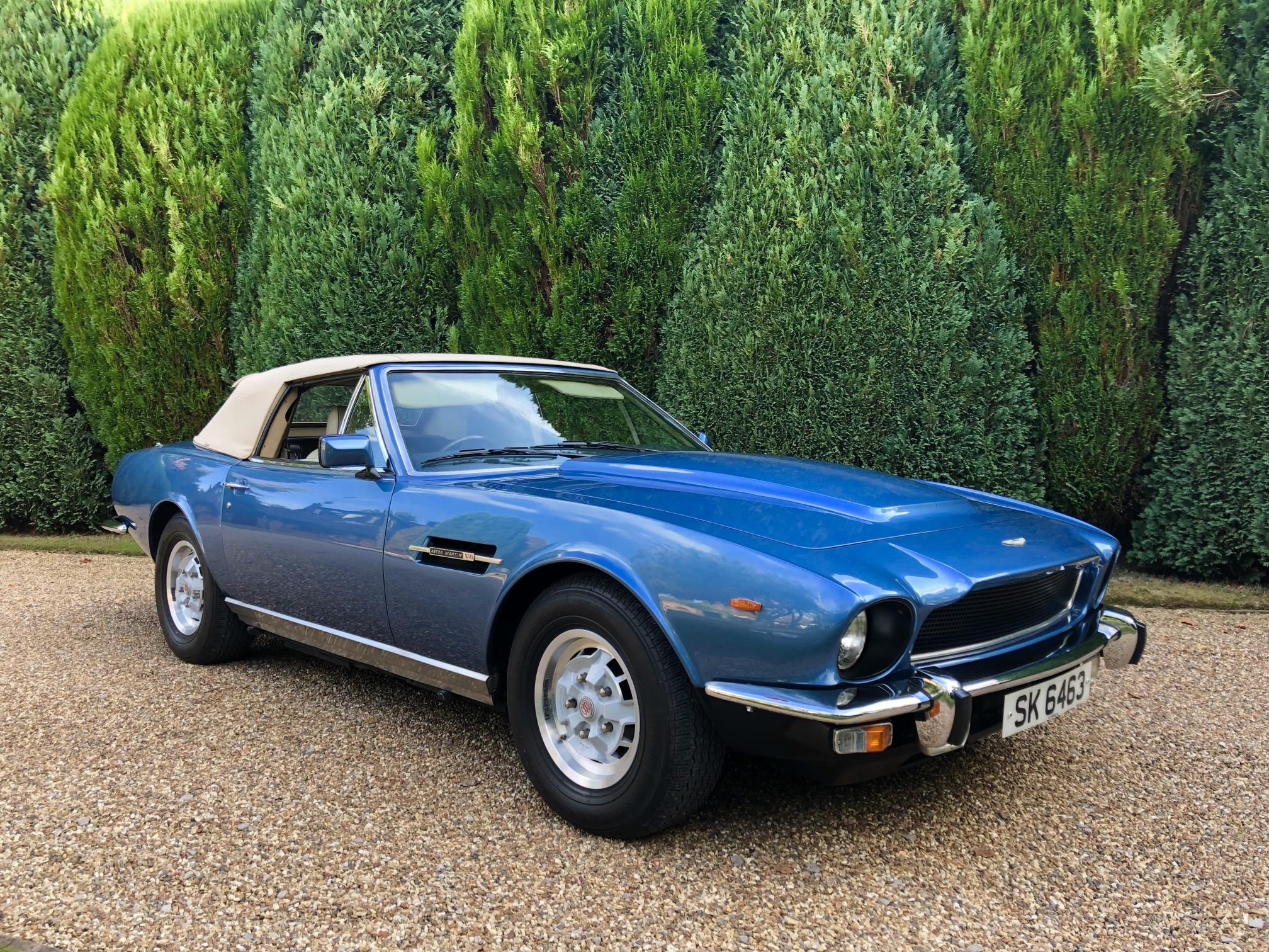 Daltrey bought this Aston Martin after The Who's Tommy album made them world famous. | Silverstone Auctions photo